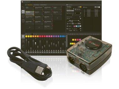 DASLIGHT DVC4 GOLD VIRTUELE DMX-CONTROLLER MET USB-DMX INTERFACE (VDPDVC4GOLD)