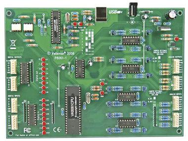 UITGEBREIDE USB INTERFACEKAART (VM140)