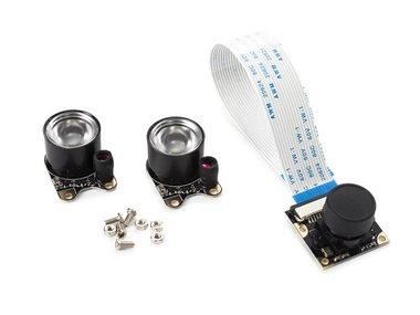 CAMERAMODULE MET 2 IR-LEDS VOOR RASPBERRY PI® (VMP404)