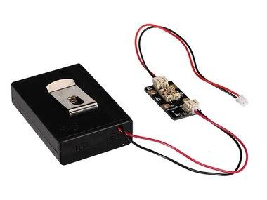 BRIGHTDOT-SET - VOEDING & ZEKERINGEN VOOR ELEKTRONISCHE WEARABLES (VMW111)
