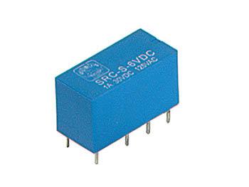 DIL RELAIS 1A/30VDC-125VAC 2 x WISSEL 24Vdc (VR1D242C)