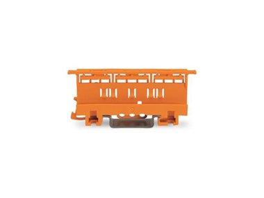 BEVESTIGINGSADAPTER - SERIE 221 - 4 mm² - VOOR MONTAGE OP TS 35/SCHROEFMONTAGE - ORANJE (WG221500)