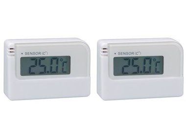 DIGITALE MINITHERMOMETER - 2 ST. IN BLISTER (WT007)