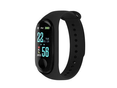 MULTISPORT SMARTWATCH - ZWART (BP-5220.133)