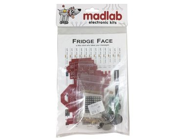 MADLAB ELECTRONIC KIT - FRIDGE FACE (MLP117)