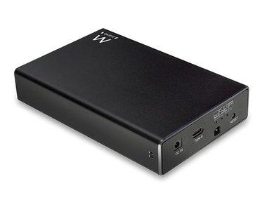 EWENT - 2.5 RAID SATA Dual HDD SSD BEHUIZING -  USB 3.2 Gen2 (EM7077)