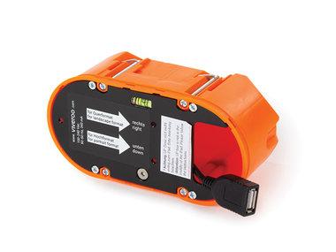 MountingSet Inwall - voor viveroo free - met USB-A connector (TAM310200)