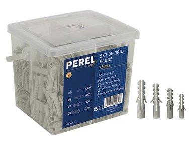 PLUGGENSET - 5-6-7-8 mm - 730 st. (HPLS1)