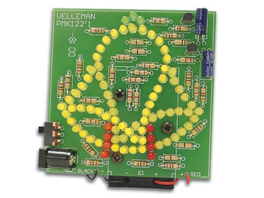 GEANIMEERDE KLOK MET 83 LEDs (WSSA122)