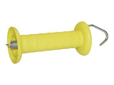 Poortgreep open met haak, geel (COR44953)