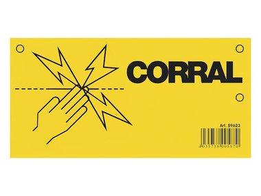 Waarschuwingsbord Corral (COR59623)