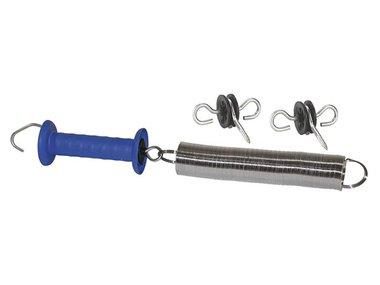 Poortsyst. m. blauwe poortgr. incl. 2 poortgreepisolatoren (COR59945/1)