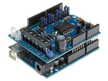 Motor &  power shield voor Arduino® (WPK03)