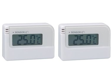 DIGITALE MINITHERMOMETER - 2 ST. IN BLISTER (WT007)/opruiming