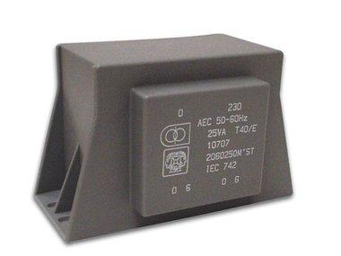 TRANSFORMATOR LAAG PROFIEL 12VA 2 x 24V / 2 x 0.250A (2240120MST)