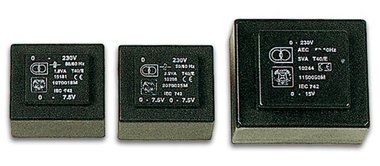 INGEGOTEN TRANSFORMATOR 8VA  2 x 30V / 2 x 0.140A (2300080M)