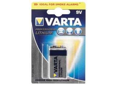 PROFESSIONELE LITHIUM E-BLOK 9V - VARTA (1 st./blister) (6LI61)