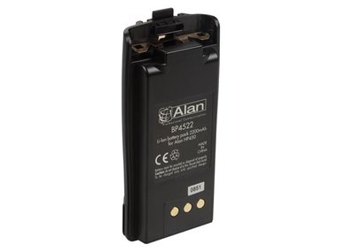 Spare Battery  Li-ion -2200mAh for ALN003 (G7) & ALN006 (ALAN® HP450L - PMR446+PMR  - IP67) (ALNA014)