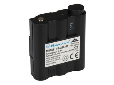 Spare Battery  800mAh Ni-MH for ALN004 & ALN020 (Midland G 7) (ALNA017)