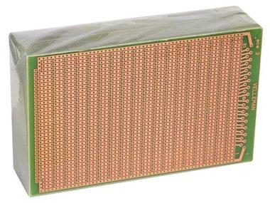 EUROCARD 3 GATEN PER EILAND - 100x160mm - FR4 (25st./doos) (B/ECS3)