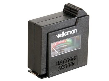 VELLEMAN BATTERIJTESTER IN ZAKFORMAAT (BATTEST)