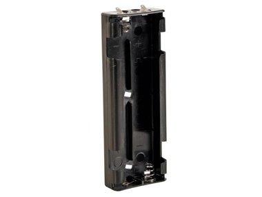 BATTERIJHOUDER VOOR 6 x C-CEL (MET SOLDEERLIPPEN) (BH261D)