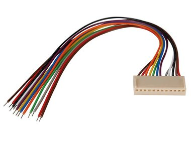 PRINTCONNECTOR - VROUWELIJK - 12 CONTACTEN / 20cm (BTWF12)