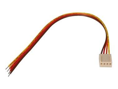 PRINTCONNECTOR - VROUWELIJK - 4 CONTACTEN / 20cm (BTWF4)