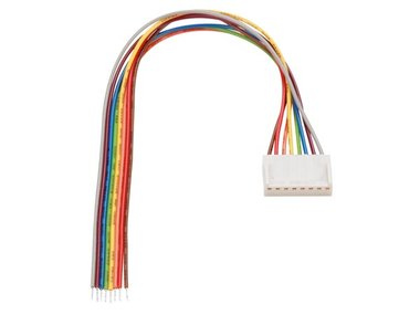 PRINTCONNECTOR - VROUWELIJK - 8 CONTACTEN / 20cm (BTWF8)