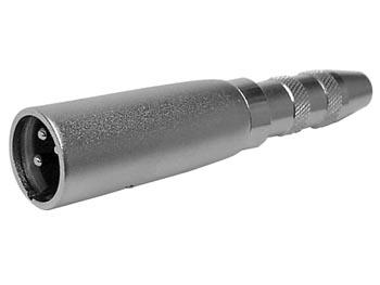 3P XLR MANNELIJK NAAR VROUWELIJKE 6.35mm STEREO JACKPLUG (CAA09)