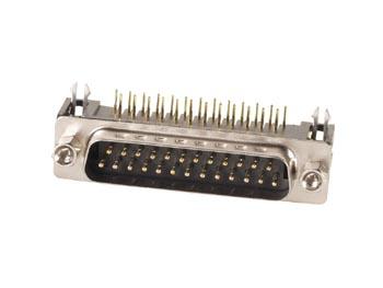 MANNELIJKE 25P SUB-D CONNECTOR - PRINTMONTAGE (CC017) per 10st