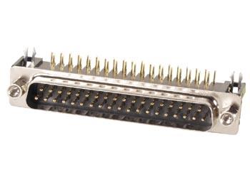 MANNELIJKE 37P SUB-D CONNECTOR - PRINTMONTAGE (CC018) per 5st