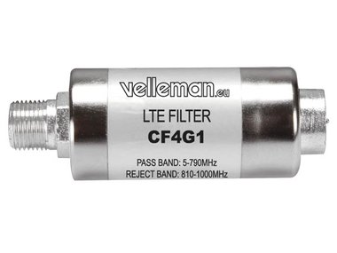 4G/LTE-FILTER (F-CONNECTOR) (CF4G1)