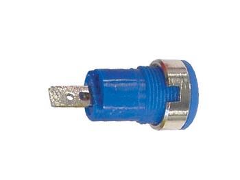 IEC1010 BINDING POST, FASTON - BLUE (CM17BL) per 5st
