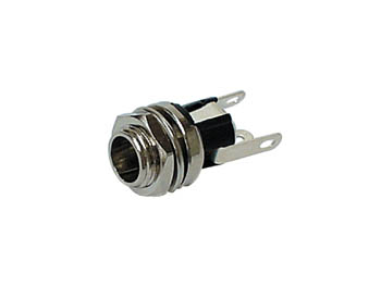 DC-STEKKER 2.1mm / 5.5mm, CHASSISMONTAGE (DC/CHASS)