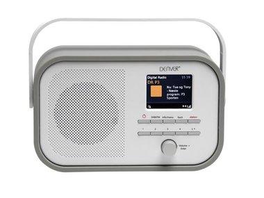 DAB-40GREY - DAB+/FM-RADIO MET DAB-SLIDESHOW - GRIJS (DV-10507)