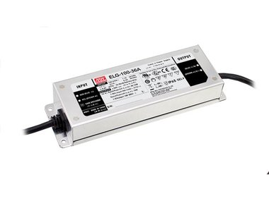 SCHAKELENDE VOEDING  - 1 UITGANG - 100 W - 24 V (ELG-100-24A)