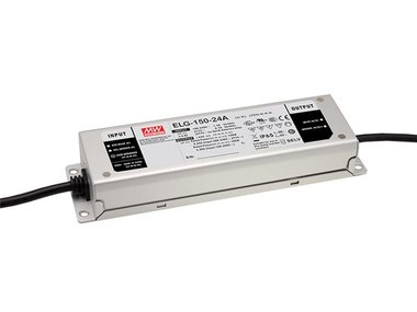 SCHAKELENDE VOEDING  - 1 UITGANG - 150 W - 24 V (ELG-150-24A)
