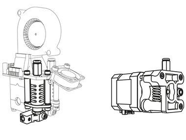 TWEEDE KOP VOOR K8400 - VERTEX 3D PRINTER (K8402)
