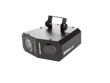 LEDEFFECT - 2 GEKLEURDE STRALENBUNDELS - 54 RGB-LEDs (HQLE10009)