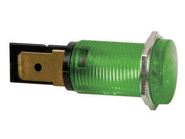 RONDE SIGNAALLAMP 14mm 220V GROEN (HRJC220V)