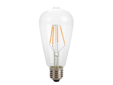 RETRO LED-GLOEILAMP - ST64 - 4 W - E27 - INTENS WARMWIT (LAL1B3ON)