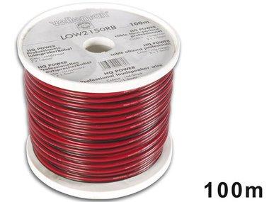 CCA LUIDSPREKERKABEL - 2 x 1.50mm² - ROOD/ZWART - ROL: 100m (LOW2150RB/C)