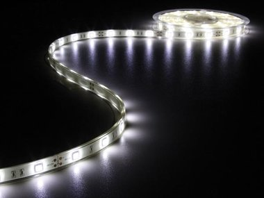 FLEXIBELE LED STRIP - KOUD WIT 6500K - 150 LEDs - 5m - 12V (LQ12W210CW65N)