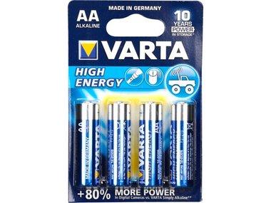 HIGH-ENERGY ALKALINE AA / LR6 1.5V-2600mAh 4906.121.414 (4st/bl) (LR6BL)