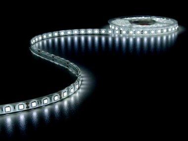 FLEXIBELE LED STRIP - KOUD WIT 6500K - 300 LEDs - 5m - 12V (LQ12W230CW65N)