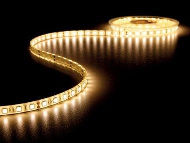 FLEXIBELE LED STRIP - WARM WIT 3500K - 300 LEDs - 5m - 12V (LQ12W230WW35N)