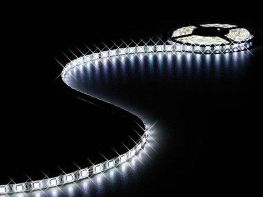FLEXIBELE LED STRIP - KOUD WIT 6500K - 300 LEDs - 5m - 24V (LQ24M230CW65N)