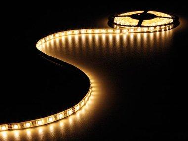 FLEXIBELE LED STRIP - WARM WIT 2700K - 300 LEDs - 5m - 24V (LQ24M230WW27N)