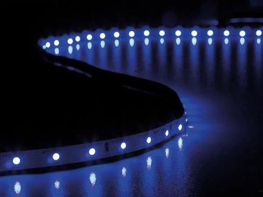 FLEXIBELE LED STRIP - ULTRAVIOLET - 300 LEDS - 5 m - 24 V (LQ24N130UV)